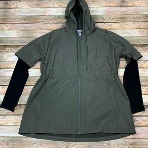 Champion Wind Shirt Jacket Compression Sleeves XS
